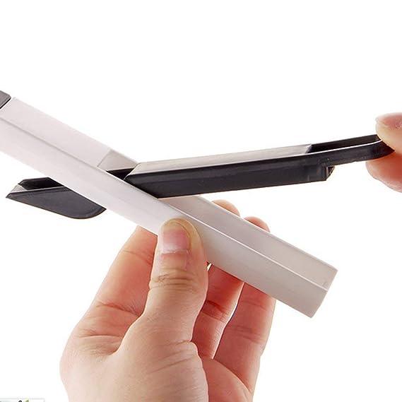 LAN@ 2 in1 Ventana de limpieza del cepillo de limpieza Cranny teclado de cocina casera plegable herramienta de limpieza de cepillo: Amazon.es: Hogar