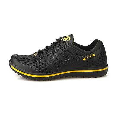 New Water Aqua Summer Beach Casual Womens Shoes Sandals Black