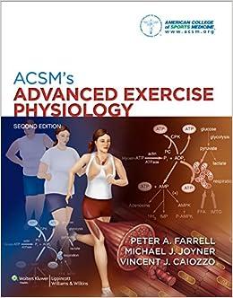 Acsm's Advanced Exercise Physiology Hardcover por Vv.aa epub