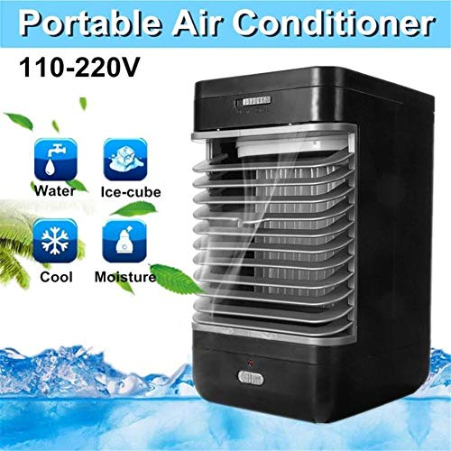 AINGOL Personal Space Air Cooler, 3 in 1 Portable Mini Air Conditioner, Humidifier & Purifier with 2 Speeds for Quick Cool Home Office Desk Bedroom Outdoor
