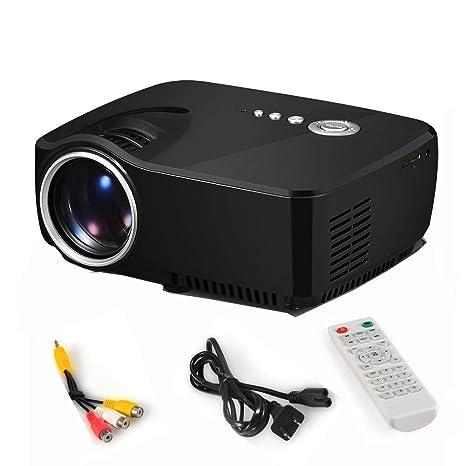 WOWOGA Mini proyector Que se Puede proyectar sobre una Pared Lente ...