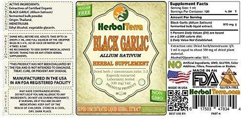 Amazon com: Herbal Terra (USA) Black Garlic (Allium Sativum