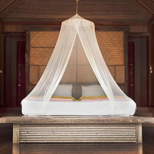 Premium Mosquito Net Canopy For Bed | White Netting for Teen Girls Boho Decor | Princess ... & Premium Mosquito Net Canopy For Bed | White Netting for Teen Girls ...
