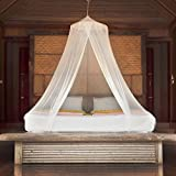 Premium Mosquito Net Canopy For Bed | White Netting for...