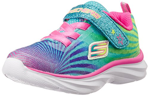 Skechers Kids Pepsters Colorbeam Sneaker (Little Kid/Big Kid),Multi,