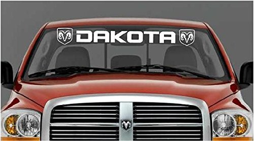 dodge ram 1500 windshield decal - 5