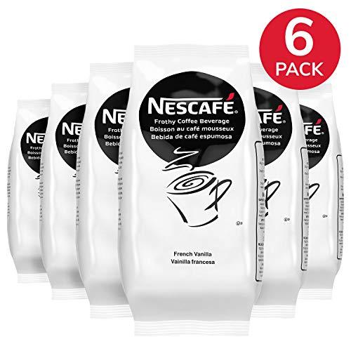 Nescafe Coffee, French Vanilla Cappuccino Mix, Instant Flavored
