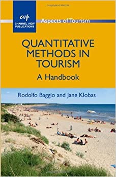 Book Quantitative Methods in Tourism: A Handbook (Aspects of Tourism) by Rodolfo Baggio (2011-03-15)