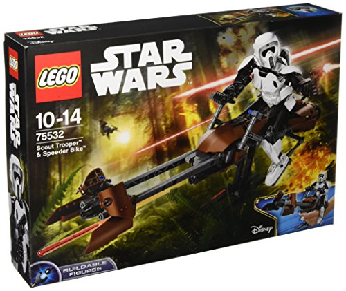 Lego 75532 Star Wars Scout Trooper und Speeder Bike