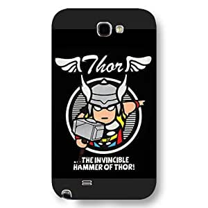 Customized Marvel Series For Iphone 5/5S Case Cover Marvel Comic Hero Thor For Iphone 5/5S Case Cover Only Fit For Iphone 5/5S Case Cover (Black Frosted )