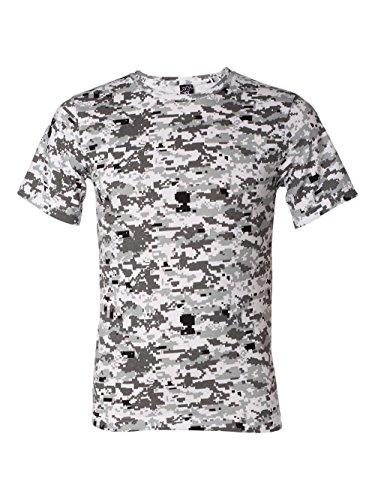 Urban Camouflage T-shirt - Code Five Camouflage T-Shirt (LS3906)- Urban Digital,X-Large