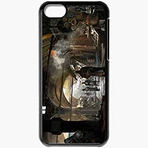Personalized iPhone 5C Cell phone Case/Cover Skin Assassin 39 S Creed Revelation Ezio Auditor Constantinople Market Black