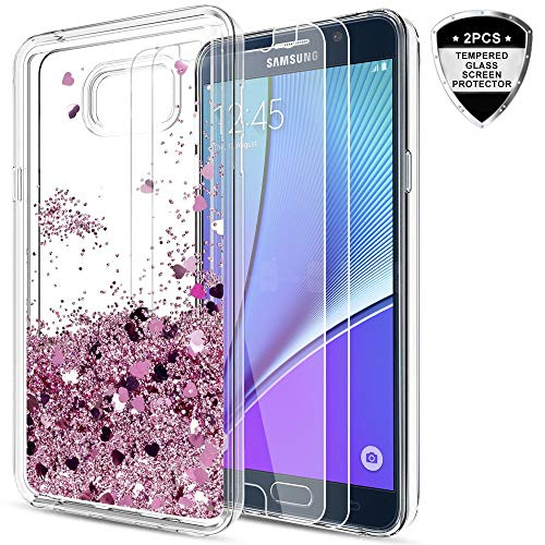 Galaxy Note 5 Case with Tempered Glass Screen Protector [2