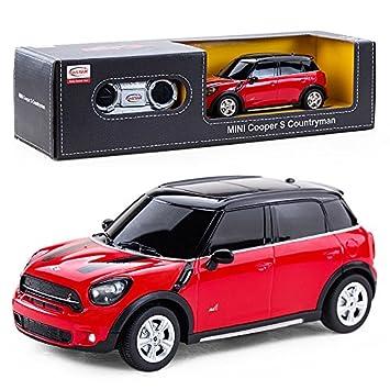 Amazon.com: Rastar 1: 24 Mini Cooper S control remoto coche ...
