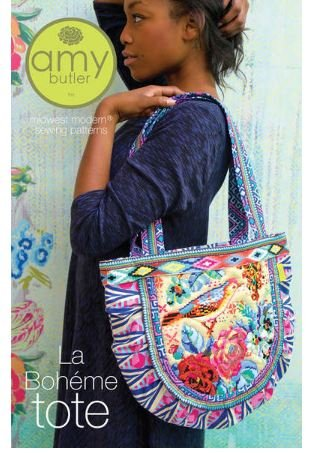 Butler Quilt Amy (Amy Butler La Boheme Tote Sewing Pattern DYI Tote)