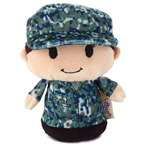 Hallmark itty bittys Blue Camo Girl Stuffed Animal Itty Bittys Patriotic