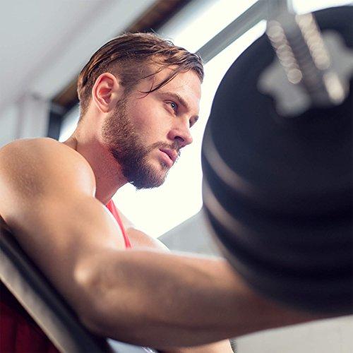 TecTake Banco de bíceps curl | apoyabrazos y asiento regulable | casa aptitud: Amazon.es: Deportes y aire libre