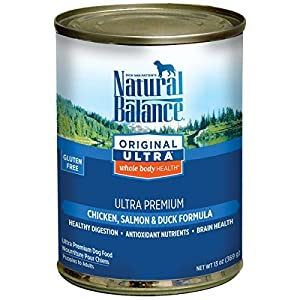 cheap Natural Balance Canned Dog Food, Ultra Premium Recipe, 12 x 13 Ounce Pack by Natural Balance