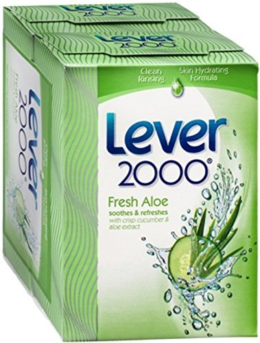 (Lever 2000 Deodorant Soap Fresh Aloe 9 oz (Pack of 5))