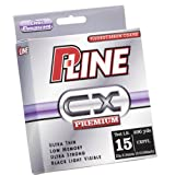 P-Line CX Premium Fluorocarbon Coated Filler Spool (300-Yard, 15-Pound, Clear Fluorescent)