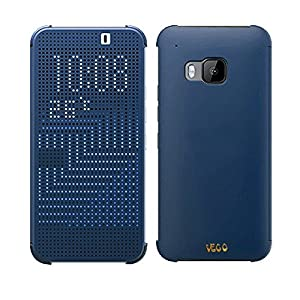 HTC Dot View II Case (Clear Back) for HTC One M9 -