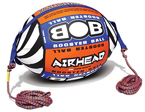 - AIRHEAD AHBOB-1 Bob Tow Rope w/ Inflatable Buoy Booster Ball Lake Towables Tubes