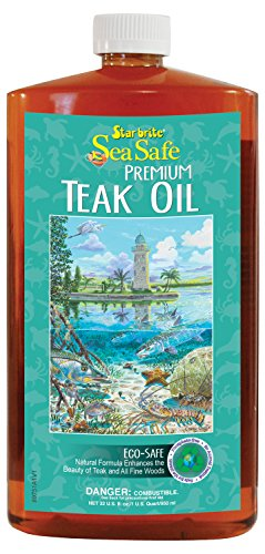 Star brite Sea Safe Teak Oil Low Voc - 32 oz ()
