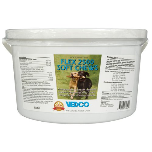 Flex 2500 Soft Chews – 240 ct, My Pet Supplies
