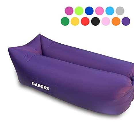 GABOSS Inflatable Lounger Air Filled Balloon Furniture,Hangout Bean  Bag,Outdoor Or Indoor Air