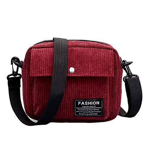 Shoulder Bag for Women Fashion Flap Bag Square Patent Letter Leather Crossbody Bag,Rakkiss