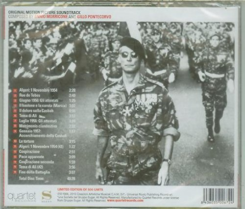 La Battaglia di Algeri (The Battle of Algiers): Original Soundtrack, Limited 500 Units Edition