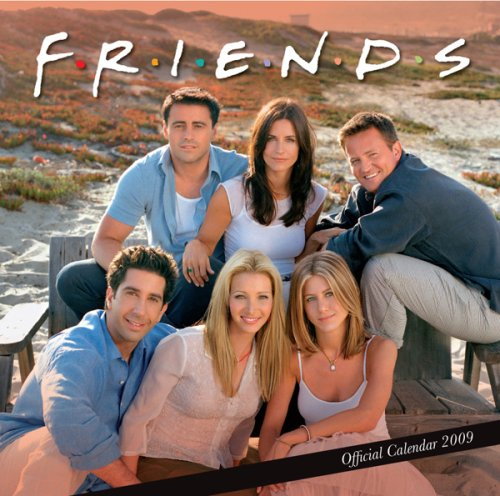 Click for larger image of 'Friends' Official Calendar 2009