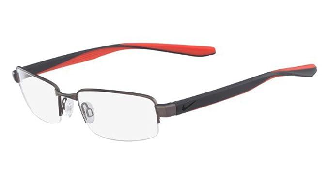 Nike 8174 070 51, Monturas de Gafas para Hombre, Brushed Gunmetal