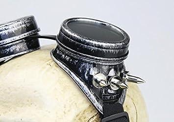 Máscara de Gas para Parabrisas Estilo Vintage de la Familia Punk para Hombres y Mujeres
