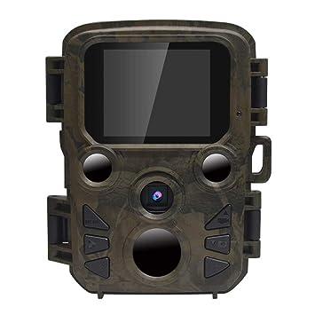 Mini cámara godbless Wild Wild Cámara con detector de movimiento (Visión Nocturna,