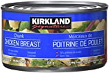 can chicken - Kirkland Signature chicken breast, packed in water, premium chunk, 6 12.5-ounce cans