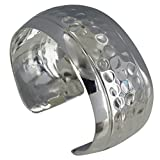 Les Poulettes Jewels - Sterling Silver Bracelet Cambered Peas and Two Smooth Bands