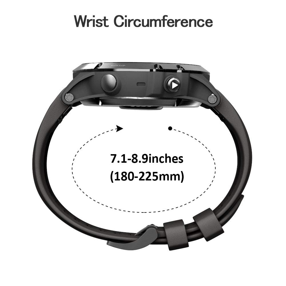 ANCOOL Compatible Fenix 5X Plus Band 26mm Easy Fit Silicone Smartwatch Bands Replacement for Fenix 5X/Fenix 5X Plus/Fenix 3/Fenix 3 HR (Pack of 7) by ANCOOL (Image #7)