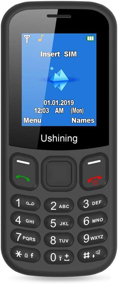 Ushining Teléfono Móvils Basico, Teléfono Móvil para Personas ...