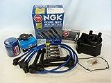 1998-2002 Honda Accord LX EX 2.3L 4cyl Tune Up Kit (NGK V...