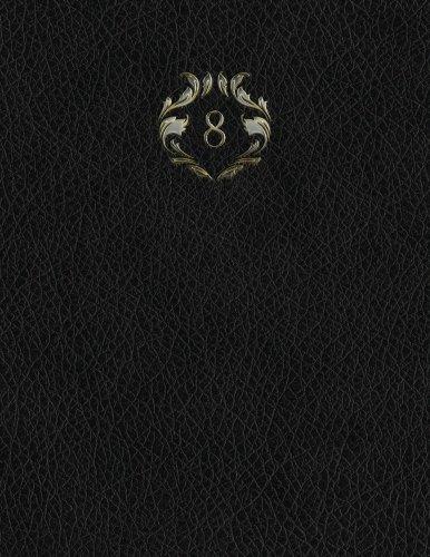 "Download Monogram ""8"" Sketchbook (Monogram Black 150 Sketch) (Volume 34) ebook"