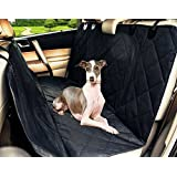 Living Express 16PE0301 Waterproof Non-Slip Hammock Design Back Bench Car Seat Cover for Pet Dog