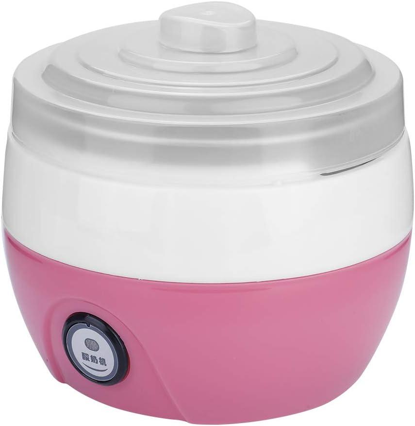 Automatic Yogurt Maker Machine, Digital Yogurt Maker, for Kitchen Home(Pink)