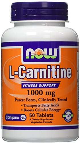 Now Foods L Carnitine 1000 Tabs