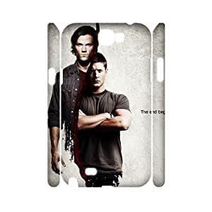 Custom Protective Hard 3D Plastic Case for Samsung Galaxy Note 2 N7100 - Supernatural diy 3D case at CHXTT-C