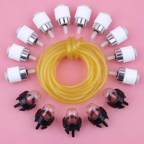 Laliva tools - Fuel Filter Line Hose Primer Bulb Kit For Bolens BL410 BL150 BL250 BL100 Tiller String Trimmer Engine Spare Part