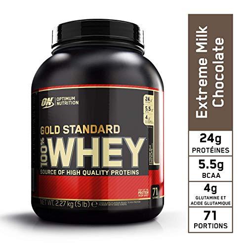 Optimum Nutrition Gold Standard 100% Whey Protein Powder, Extreme Milk Chocolate, 5 Pound (3 10 Nutrition)