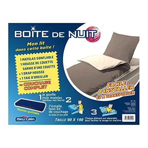 Bleu Calin BDN PB MiFi Caja de Noche colchón Hinchable con ...