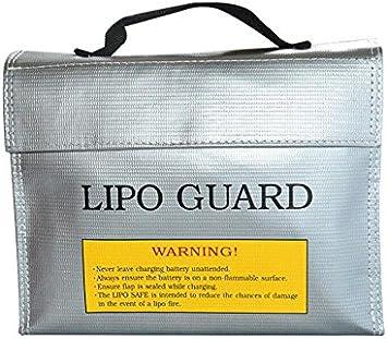 flammhemmender rc lipo akku sicherer beutel lipo guard ladeschutzbeutel