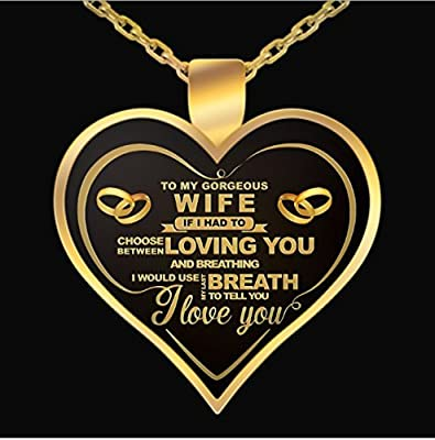 wife birthday gift Amazon.: NetHomeNecklace   Perfect Gift For Your Wife   Wife  wife birthday gift